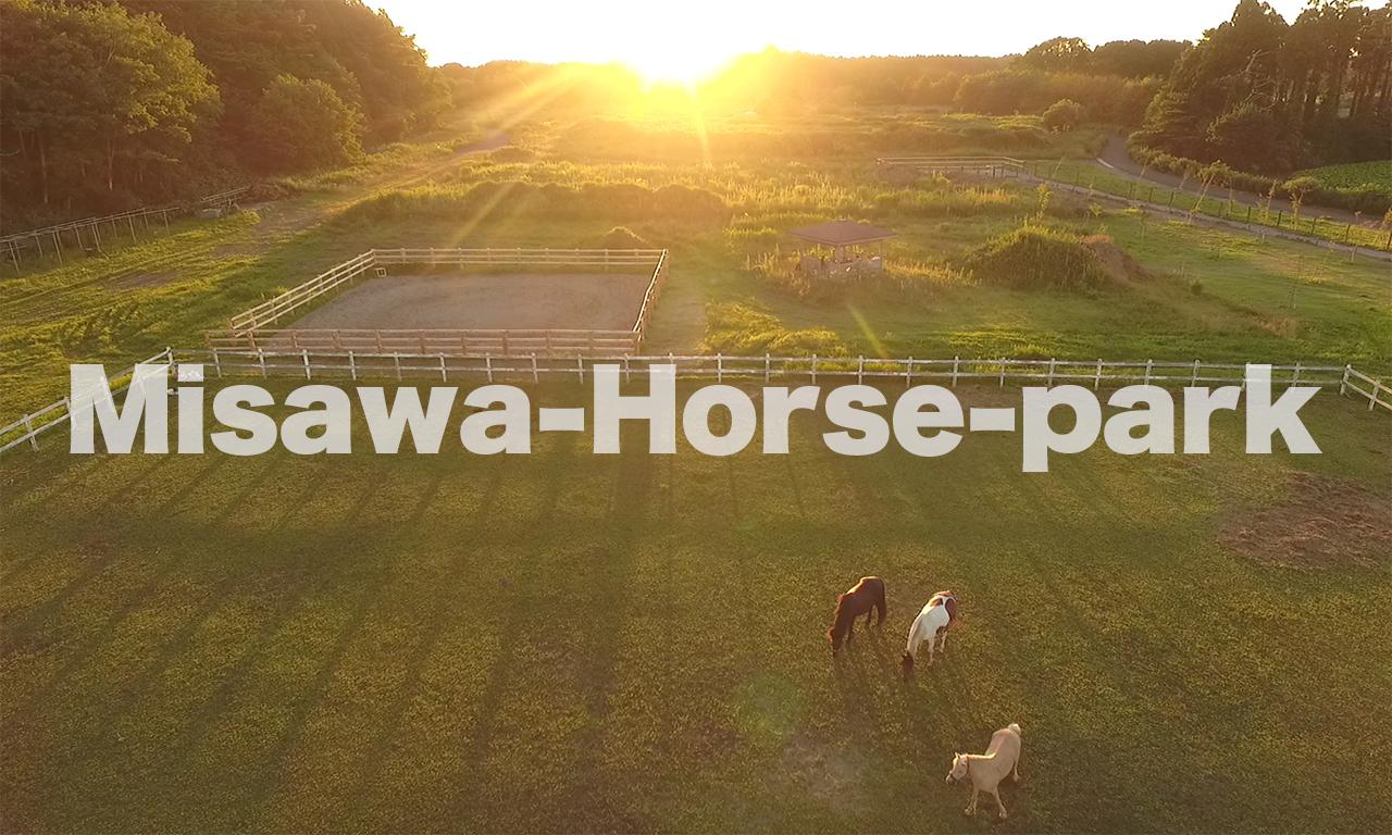 【三沢ホースパーク】お馬と遊べる場所/青森県三沢市