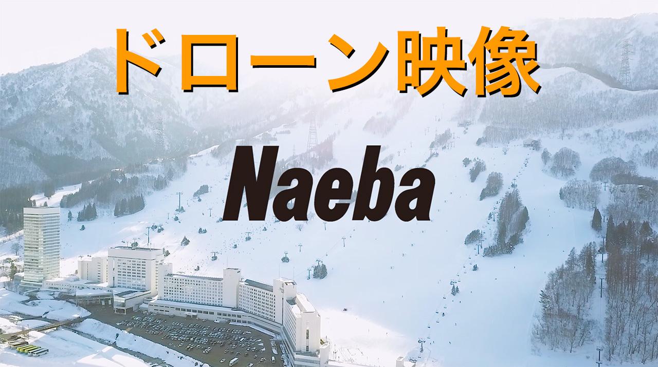 [ 新潟県来場者NO1 苗場スキー場 ] Naeba ドローン撮影