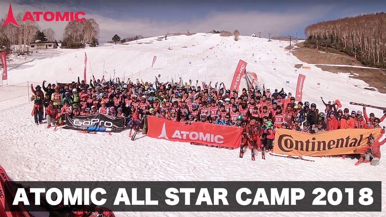⛷️ATOMIC ALL STAR CAMP 2018 映像 🎿(志賀高原 一ノ瀬)