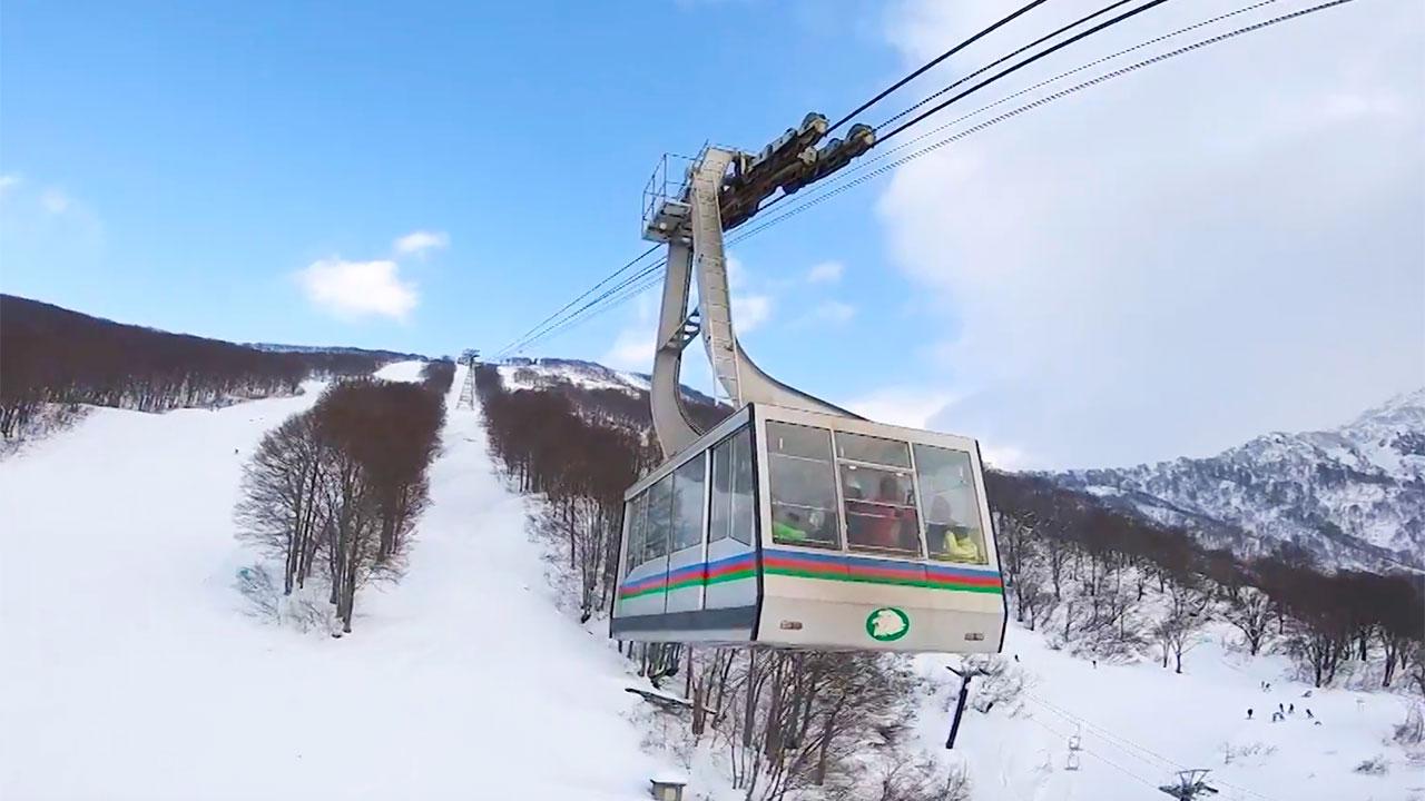 八海山スキー場 ドローン オフショット 2017年12月