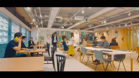 FANTAS technology株式会社  オフィス マイクロドローン映像